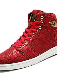 Scarpe Sneakers Da uomo Pelliccia sintetica Nero / Blu / Rosso / Bianco / Grigio