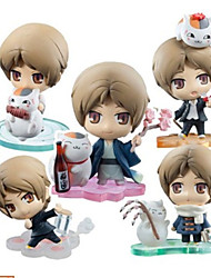Natsume's Book of Friends  Natsume Takashi Anime Action Figures Model Toys Doll Toy 6pcs 7cm