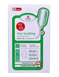Маски влажный Жидкость Влажность / Лифтинг и повышение эластичности кожи Лицо Кот Korea