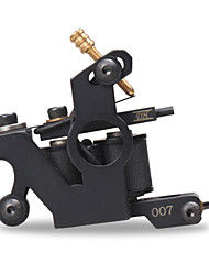 Professional Handmade Tattoo Machine For Liner Shader New Design Black Color 10 Wrap Coils Tattoo Machine