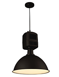 Black, wrought iron single head droplight