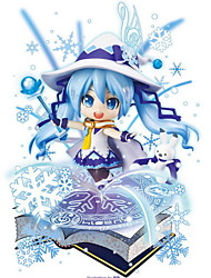 Vocaloid Hatsune Miku PVC One Size Anime Action Figures Model Toys 1pc 11cm