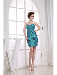 Cocktail Party Dress Sheath/Column Sweetheart Short/Mini Taffeta