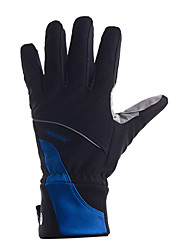 Glove Cycling/Bike Men's Full-finger GlovesAnti-skidding / Keep Warm / Wearproof / Shockproof / Reduces Chafing