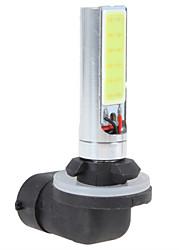 2PCS 12V 80W COB LED 880 Car LED Fog Lamp Car High Beam Lamp Low Car Low Beam Lamp White Color