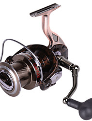 20Kg Power Drag RS7000 All Metal Spincasting Fishing Reel 4.9:1 12+1 BB Spinning Reels Sea Fishing For Big Fish