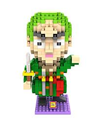 зеленый / фиолетовый ABS Строительные блоки DIY игрушки