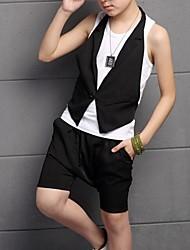 Jungen Kleidungs Set - Baumwolle Ärmellos Sommer