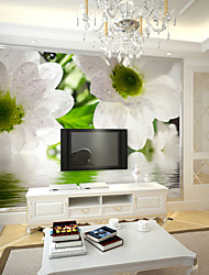JAMMORY Fresco TV Backdrop 3D Seamless Flower Wallpaper XL XXL XXXL