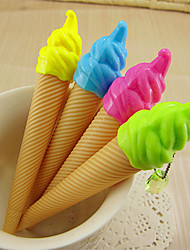 1PC Ice Cream Ice Cream Neutral Pen Pen Lovely Pen(Style random)