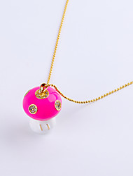 8GB Necklace Mushroom Jewelry USB 2.0 Rotatable Flash Memory Stick Drive U Disk ZP-17
