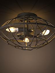 MAX 40W Montagem do Fluxo ,  Retro Pintura Característica for Estilo Mini MetalSala de Estar / Quarto / Sala de Jantar / Quarto de