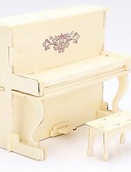 européen bois de piano 3d puzzles jouets bricolage