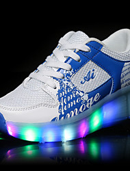 LED Light Up Shoes,Non-rechargeable battery, Unisex Kid Boy Girl Up Single Wheel Sneaker Athletic Shoe Sport Shoes Roller Shoes Dance Boot