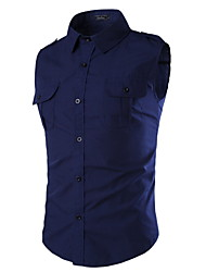Men's Fashion Casual Sleeveless Shirt