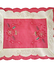"Beautiful Embroidery Multi-Purpose  Table Cloths With   Size 25X36CM(10X14"")"