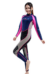 Unisex Dive Skins Wetsuit Skin Full Wetsuits Thermal / Warm Quick Dry Ultraviolet Resistant Anti-Eradiation Chinlon Diving SuitDiving