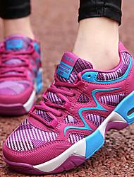 Sapatos Tênis Feminino Preto / Vermelho Tule