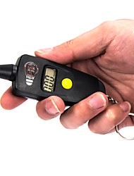 Key Chain Portable Car LCD Digital Tire Pressure Gauge