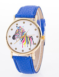 Women's New European Style Fashion Colorful Zebra Wrist Watch Cool Watches Unique Watches