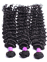 3Pcs/Lot Unprocessed Protea Hair Products Peruvian Virgin Hair Deep Wave 100% Peruvian Hair Deep Wave