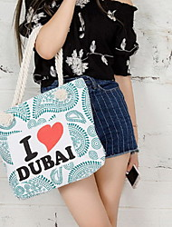Fashion Women Canvas Shopper Shoulder Bag / Tote /Mummy Bag