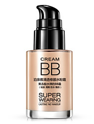 Bioaqua® Foundation Wet CreamMoisture/Whitening/Concealer/Waterproof/Uneven Skin Tone/Dark Circle Treatment 30ml 1Pc