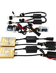12V55W HID Ballast Decoding Headlight Conversion Kit Bulb 9006 3000K 4300K 5000K 6000K 8000K