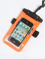 Outdoors PVC Material Dry Box or Bag for iphone/Samsung in Swimming/Diving