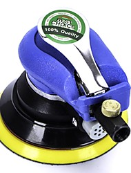 "10000RPM No Load Speed Pneumatic Air Polisher Palm Orbital Sander 5"" Dia Pad w Wrench"
