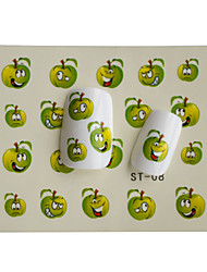 8pcs New  Lovely  Cartoon Water Transfer Nail Art Stickers Decoration ST01-08