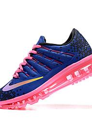 Nike Air Max 2016 Chaussure de Jogging Femme Antiusure / Matelas Gonflable Violet / Orange / Camouflage Course LacetTissu / Grille