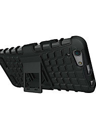 For Lenovo Case Shockproof / with Stand Case Back Cover Case Armor Hard PC Lenovo