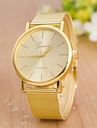 Mulheres Relógio Esportivo Relógio Elegante Relógio de Moda Relógio de Pulso Chinês Quartzo Aço Inoxidável Banda Pendente Casual Criativo