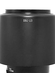 newyi® et-78ii sombra Parasol para Canon EF 135mm f / 2L USM 180 mm f / 3,5L Macro USM (ET-78 ii)