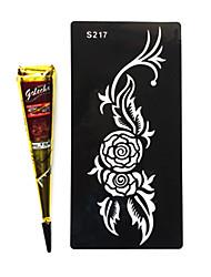 Индия golecha Hanna белый племенных временные краски татуировки крем 30г (одну покупку)