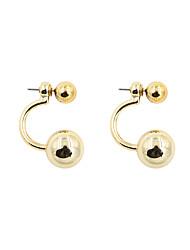 Earring Drop Earrings Jewelry Women Alloy 2pcs Gold