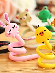 1шт мультфильм организатор кабель животное наушники наушники роликовый шнура Wrap моталки (случайный цвет)