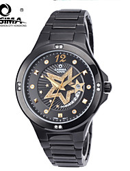 CASIMA men's Watches stainless steel quartz Fashion Beauty Casual start watch waterproof 50m Cool Watch Unique Watch