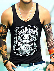 PX  Men'S Summer Trend  Printing Sleeveless Vest Tank Tops