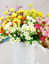Silk Daisies Artificial Flowers Multicolor Optional 1pc/set