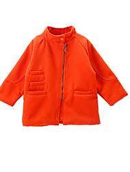 Mädchen Jacke & Mantel Baumwolle Frühling Orange