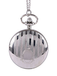 Муж. Карманные часы Кварцевый сплав Группа Серебристый металл