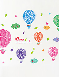 Wall Stickers Wall Decals Style Color Balloon PVC Wall Stickers