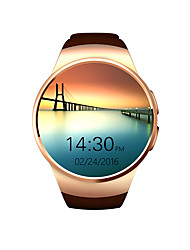Lincass Heart 1.3inch FTF HDLED rate  Communication Smart Watch for android IOS system