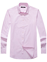 Sieben Brand® Herren Hemdkragen Lange Ärmel Shirt & Bluse Rosa-704A3B5410