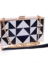 Women Bags All Seasons Poly urethane Special Material Evening Bag with for Wedding Event/Party Screen Color