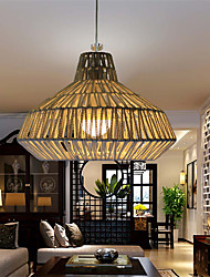 12W Traditional/Classic LED Others Metal&Rope Pendant Lights Living Room / Bedroom / Dining Room / Study Room