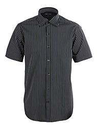 JamesEarl Herren Hemdkragen Kurze Ärmel Shirt & Bluse Grau - M21X5001017