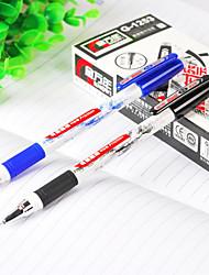 0.5 Plastic Business Gel Pens(12PCS)